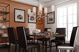 stiuk dekoracyjny w klasycznej jadalni
