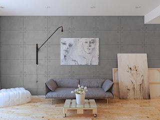 Jak uzyskać efekt betonu w małym mieszkaniu?