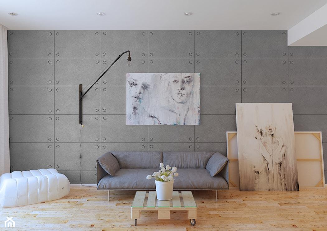 Jak Uzyskać Efekt Betonu W Małym Mieszkaniu Homebook