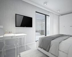 Classic always fashionable - Średnia sypialnia małżeńska z balkonem / tarasem, styl klasyczny - zdjęcie od TEMA Architekci - Homebook