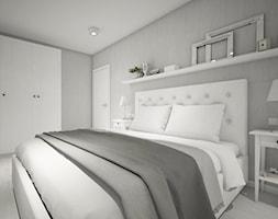 Classic always fashionable - Średnia szara sypialnia małżeńska, styl klasyczny - zdjęcie od TEMA Architekci - Homebook