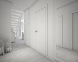 Classic always fashionable - Średni biały hol / przedpokój, styl klasyczny - zdjęcie od TEMA Architekci - Homebook