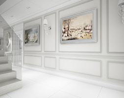 Classic beauty - Duży szary hol / przedpokój, styl klasyczny - zdjęcie od TEMA Architekci - Homebook