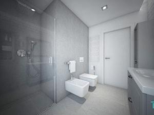 Classic always fashionable - Średnia szara łazienka w bloku w domu jednorodzinnym bez okna, styl klasyczny - zdjęcie od TEMA Architekci