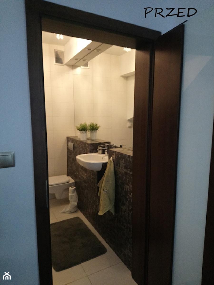 Metamorfoza małej łazienki - Łazienka - zdjęcie od ROOM STUDIO