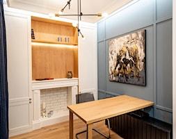 Wnętrze dla miłośników sztuki współczesnej - Biuro, styl nowoczesny - zdjęcie od ROOM STUDIO - Homebook