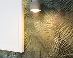 OVO WROCŁAW - Apartament Zielony - Mała zielona sypialnia dla gości, styl nowoczesny - zdjęcie od ROOM STUDIO