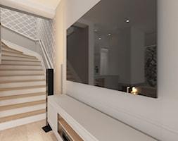 Ołtaszyn - Projekt domu - Schody, styl nowojorski - zdjęcie od ROOM STUDIO