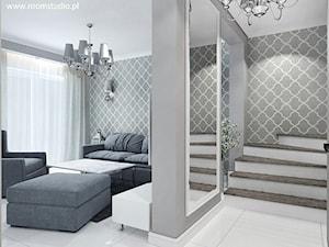 Mieszkanie z akcentami glamour