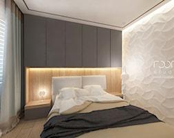 Mieszkanie w Poznaniu - Sypialnia, styl minimalistyczny - zdjęcie od ROOM STUDIO