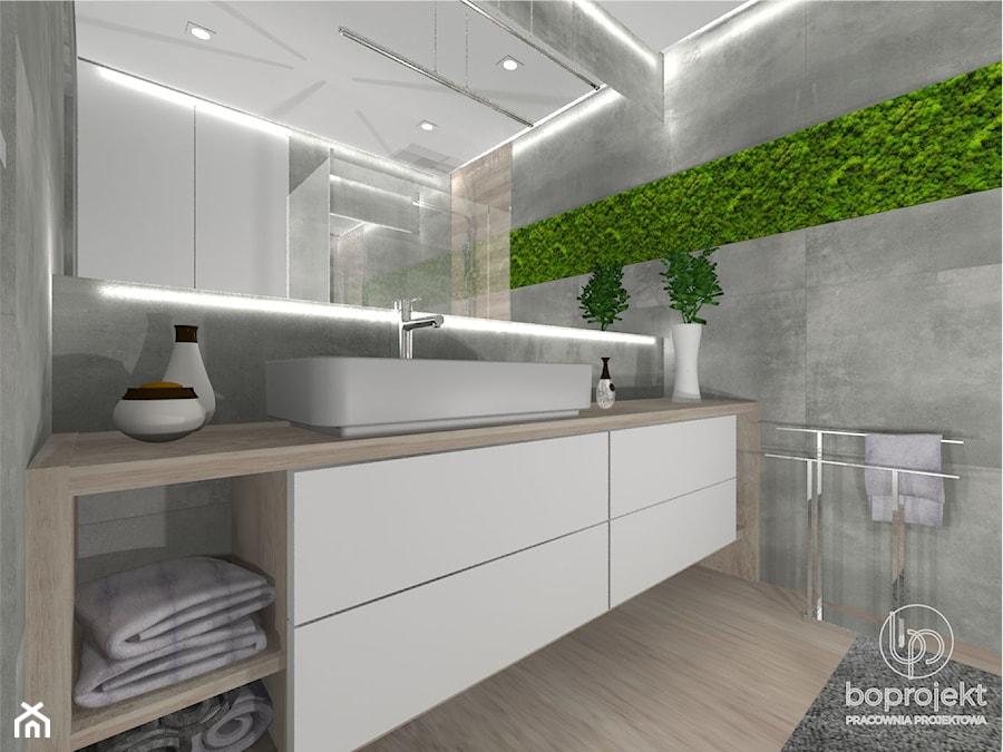 łazienka Z Mchem Zdjęcie Od Boprojekt Pracownia Projektowa