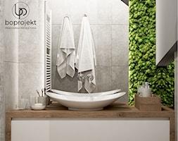 łazienka Drewniana Z Mchem Zdjęcie Od Boprojekt Pracownia