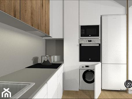 Aranżacje wnętrz - Kuchnia: Pralka w kuchni - BOPROJEKT Pracownia Projektowa . Przeglądaj, dodawaj i zapisuj najlepsze zdjęcia, pomysły i inspiracje designerskie. W bazie mamy już prawie milion fotografii!