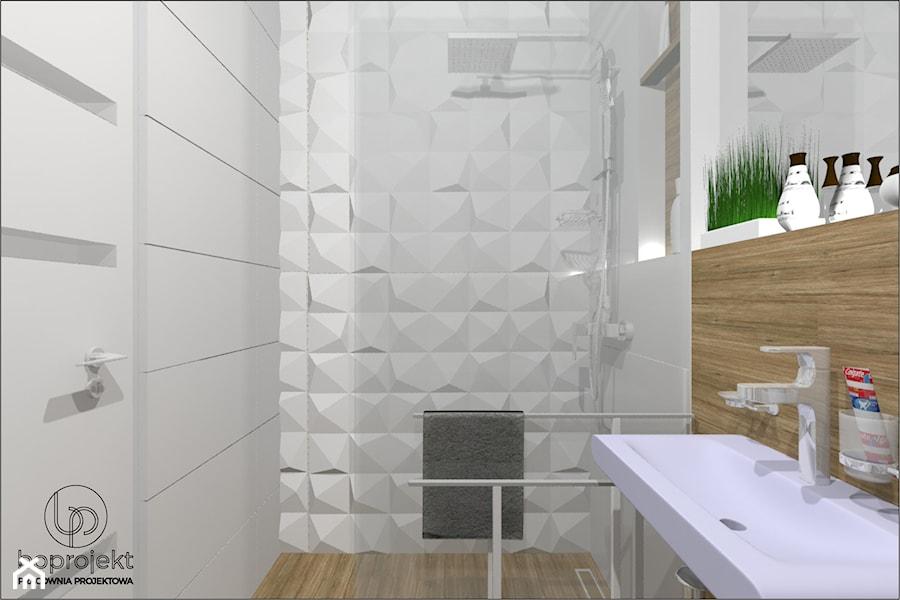 łazienka Płytki 3d Zdjęcie Od Boprojekt Pracownia