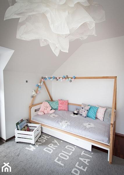 domek łóżko