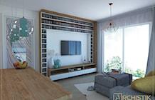 Salon styl Skandynawski - zdjęcie od ARCHISTIK Studio Projektowe