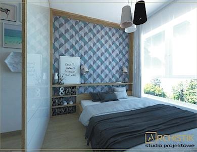 Sypialnia styl Skandynawski - zdjęcie od ARCHISTIK Studio Projektowe