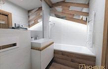 Łazienka styl Skandynawski - zdjęcie od ARCHISTIK Studio Projektowe