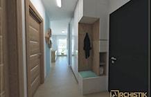 Hol / Przedpokój styl Skandynawski - zdjęcie od ARCHISTIK Studio Projektowe