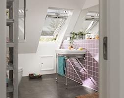Markizy na okna dachowe - Łazienka, styl eklektyczny - zdjęcie od VELUX - Homebook
