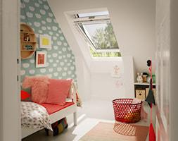 Markizy na okna dachowe - Pokój dziecka, styl skandynawski - zdjęcie od VELUX - Homebook