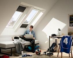 Poddasze - Inspiracje VELUX - Pokój dziecka, styl minimalistyczny - zdjęcie od VELUX - Homebook