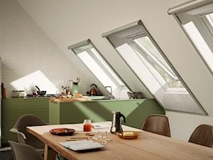 Moskitiery na okna dachowe