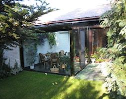 Ogród zimowy Kraków 6 - Mały ogród za domem, styl tradycyjny - zdjęcie od ALPINA Ogrody zimowe ,. oranżerie, zadaszenia, szkło architektoniczne