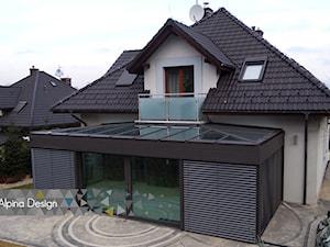 Ogród zimowy oraz żaluzje fasadowe zewnętrzne, Bielsko Biała