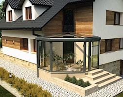 Ogród zimowy - zdjęcie od ALPINA Ogrody zimowe ,. oranżerie, zadaszenia, szkło architektoniczne - Homebook