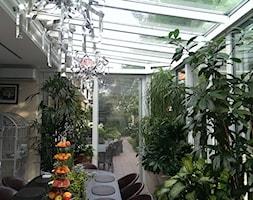 Ogród zimowy Kraków - Średni ogród, styl nowoczesny - zdjęcie od ALPINA Ogrody zimowe ,. oranżerie, zadaszenia, szkło architektoniczne