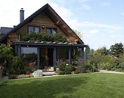 Ogród zimowy Garlica Murowana - Ogród, styl rustykalny - zdjęcie od ALPINA Ogrody zimowe ,. oranżerie, zadaszenia, szkło architektoniczne - Homebook