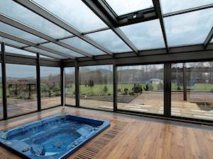 ogró zimowy - zdjęcie od ALPINA Ogrody zimowe ,. oranżerie, zadaszenia, szkło architektoniczne
