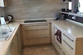 kuchnia przed malowaniem szafek kuchennych