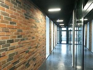 Lico ceglane New York Loft 3D w biurze - zdjęcie od Retrocegla.pl