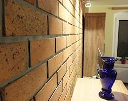 Lico ceglane New York Loft 3D w salonie #2 - zdjęcie od Retrocegla.pl