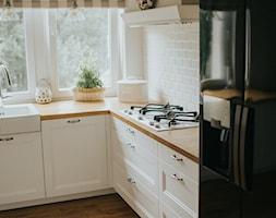 Mieszkanie na Stegnach - Kuchnia, styl skandynawski - zdjęcie od GUST MEBLE - Homebook