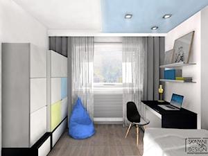 Pokój dla 5-letniego chłopca - zdjęcie od SKAZANI NA DESIGN Studio Architektury