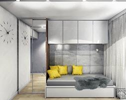 Domowe+biuro+z+k%C4%85cikiem+do+snu+i+odpoczynku+-+zdj%C4%99cie+od+SKAZANI+NA+DESIGN+Studio+Architektury