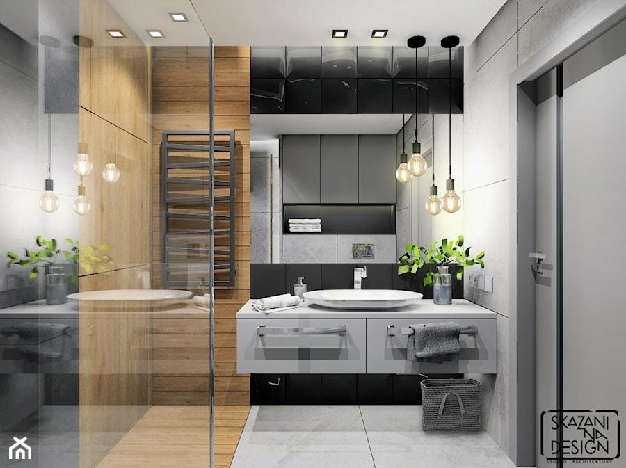 łazienka Mieszkanie Ruda śląska średnia łazienka W Bloku W