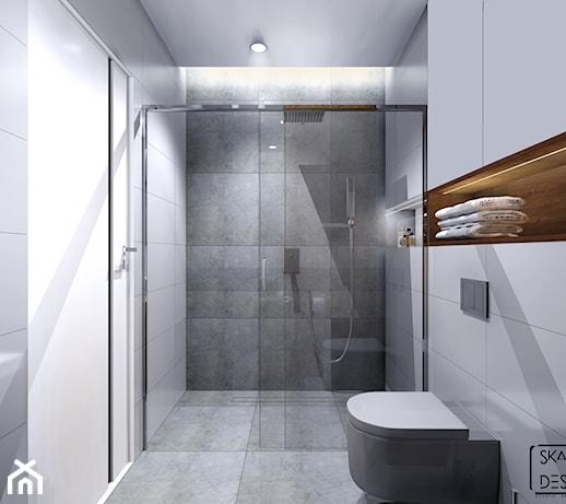 Mała łazienka Bez Okna Zdjęcie Od Skazani Na Design Studio