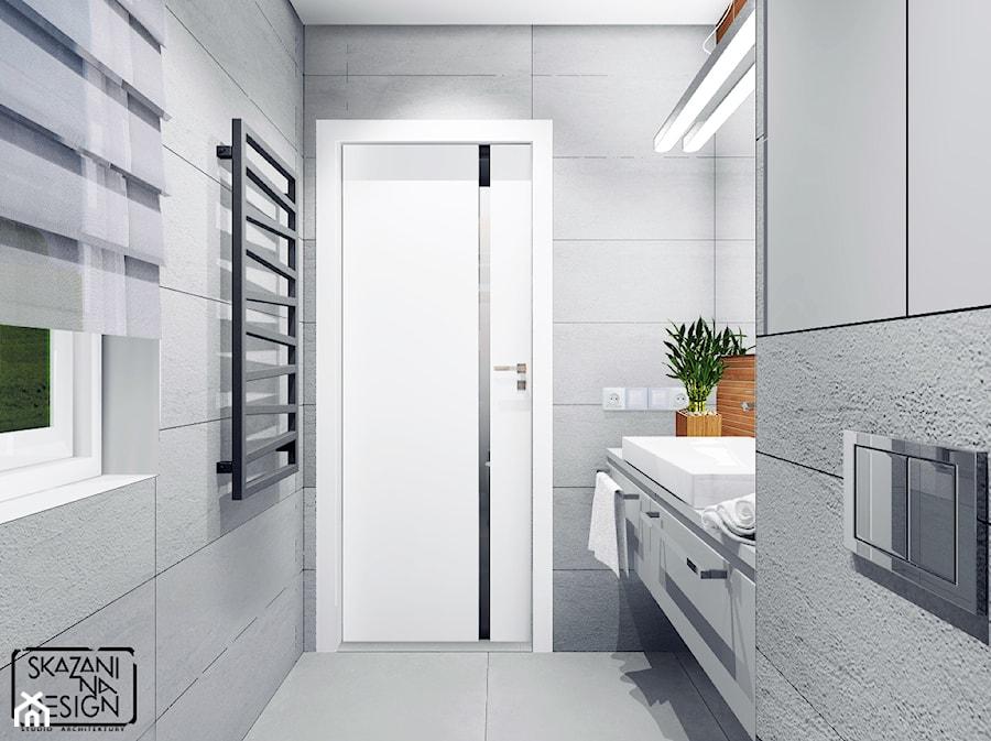 łazienki W Stylu Spa W Sosnowcu Mała łazienka Z Oknem