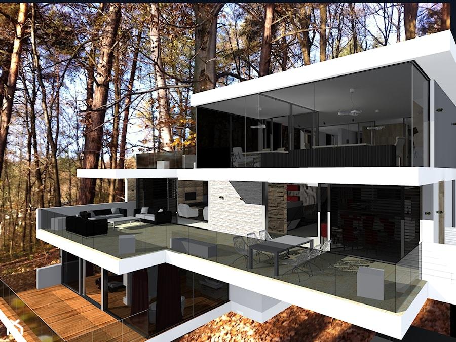 Niesamowite Luksusowy dom na wzgórzu nad jeziorem - Domy - zdjęcie od Paweł IJ08