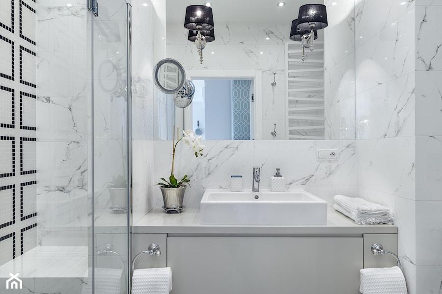 komfortowa łazienka w nowoczesnym stylu