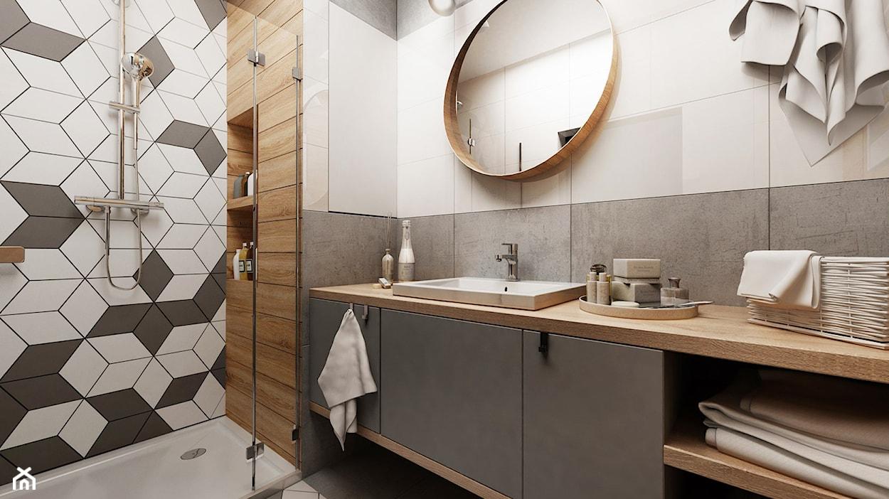 Mała łazienka W Bloku Temat Miesiąca Październik 2017