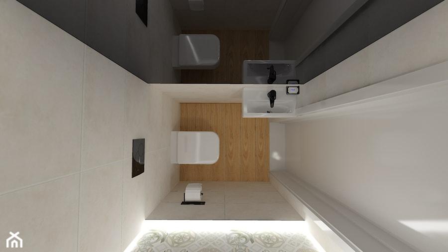 Aranżacje wnętrz - Łazienka: Toaleta - DesigneM. Przeglądaj, dodawaj i zapisuj najlepsze zdjęcia, pomysły i inspiracje designerskie. W bazie mamy już prawie milion fotografii!