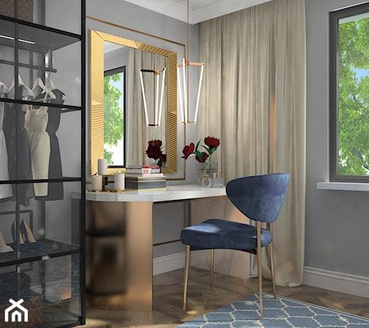 Mieszkanie dla dojrzałej pary  Sypialnia, styl nowojorski  zdjęcie od Iwona   -> Kuchnia Dla Dzieci Czarkowska Iwona Chomikuj