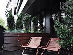 Taras Klimt House Warszawa - Taras, styl kolonialny - zdjęcie od Line Design