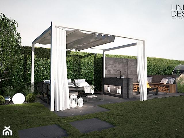 Projekt ogrodu przydomowego w Solcu