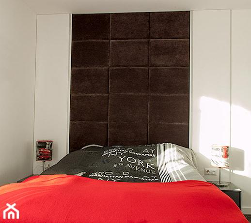 Sypialnia Z Nutą Czerwieni Zdjęcie Od Atmosfera Wnętrz
